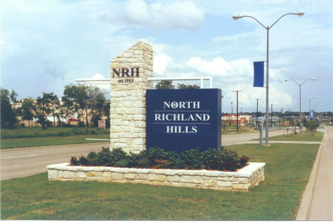 North Richland Hills Parking Lot Striping