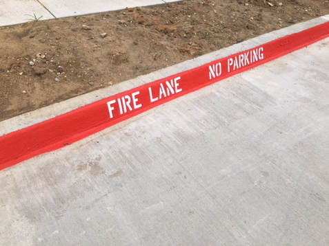 Fire Lane No Parking Euless, TX